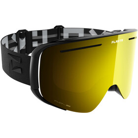 Flaxta Plenty Goggles black-gold mirror
